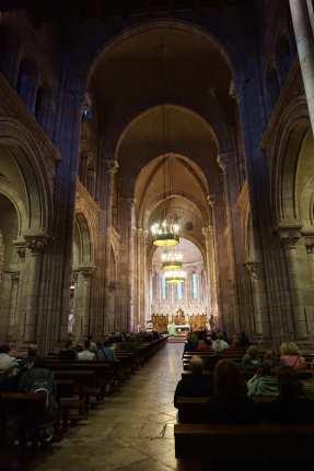 interior basílica Covadonga