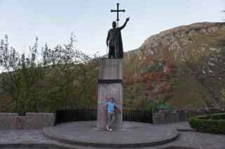 Estatua de D.Pelayo en Covadonga