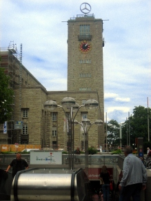Torre Mercedes Hauptbahnhof