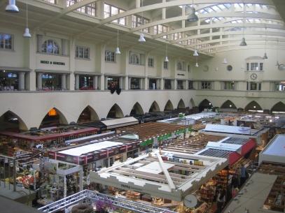 interior del Markthalle