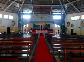 Interior iglesia S.Francisco Javier