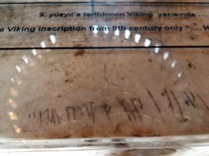 Inscripción vikinga en Sta Sofía