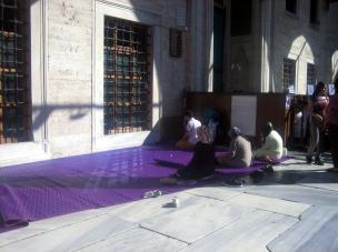 Patio interior Mezquita Azul