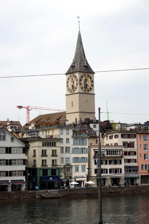 reloj St Peter Zurich
