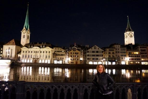 Zurich de noche