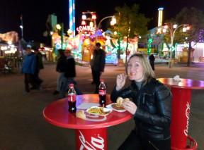Cenando en el Prater