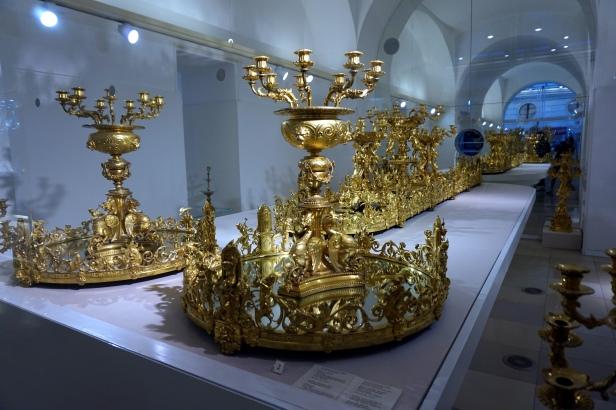 Centro mesa milanés Hofburg