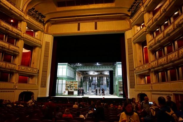 Escenario ópera viena