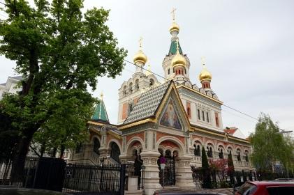Iglesia rusa en Viena