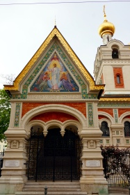 Iglesia rusa de Viena