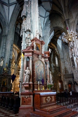 Interior catedral Viena