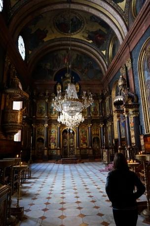 Interior Iglesia griega Viena