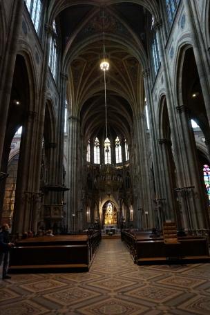 Interior iglesia Votiva Viena
