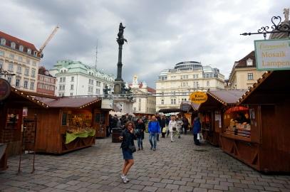 Mercado de pascua en Am Hof Viena