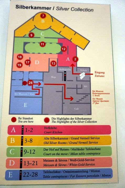 plano platería Hofburg