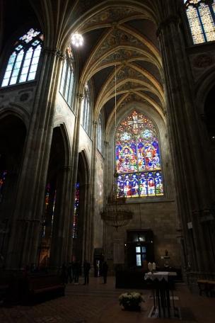 Vidriera iglesia Votiva Viena