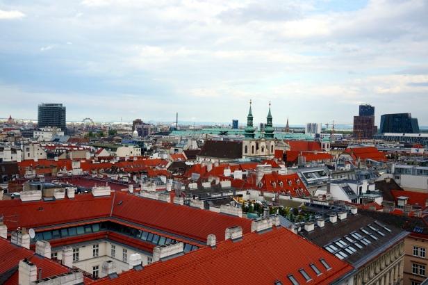 Vistas Catedral Viena
