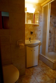 Baño habitación Atlantic Hotel