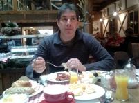 desayunando Hotel Enziana
