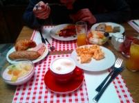desayuno hotel Enziana