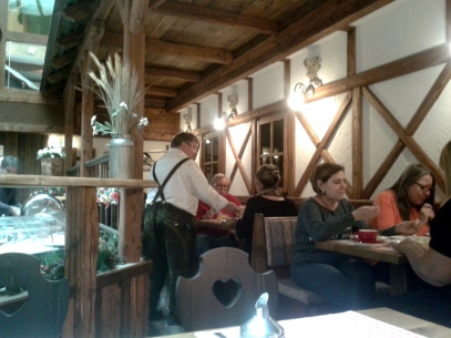 En comedor Hotel Enziana