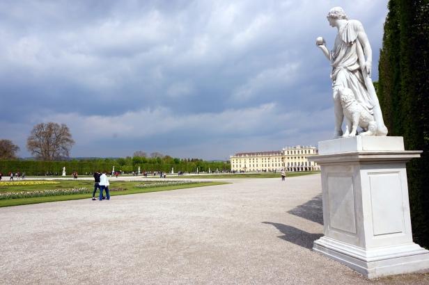 estatua Schönbrunn