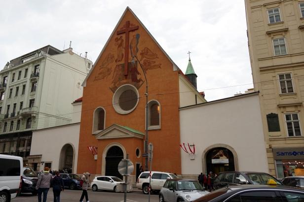 Iglesia capuchinos Viena