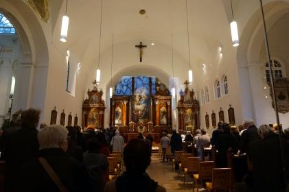 Interior iglesia capuchinos Viena