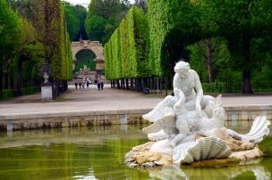 jardin Schönbrunn