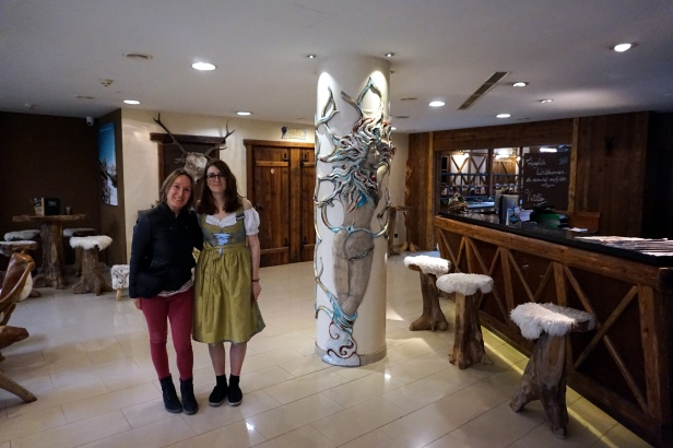 uniforme alpino hotel Enziana