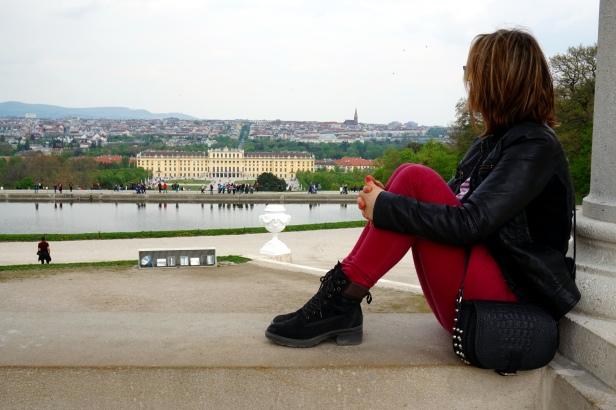 Vistas desde la glorieta Schönbrunn