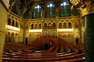 cámara alta Parlamento Budapest