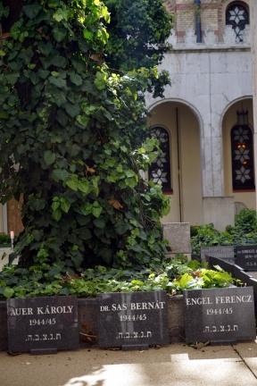 Cementerio judio Sinagoga Dohány