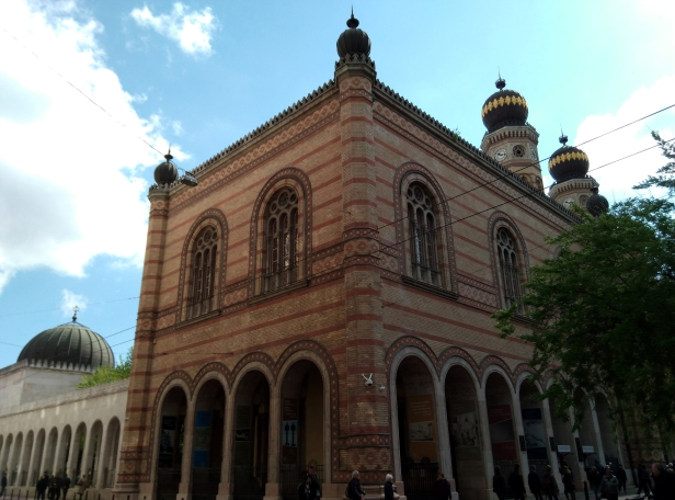Lateral Gran Sinagoga Budapest
