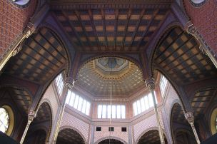 Interior sinagoga Rumbach