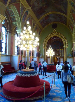 Sala Prensa Parlamento Budapest