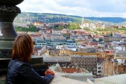 vistas desde S.Esteban Budapest