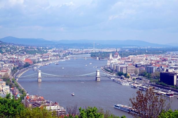 Danubio desde Pest