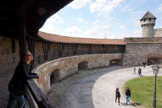 En el Castillo de Buda