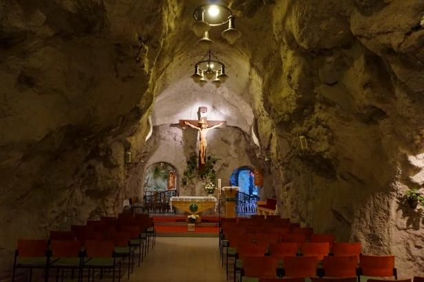 Interior iglesia Rupestre