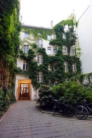 Patio barrio judío Berlín