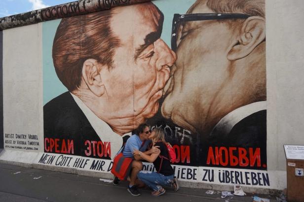 Brezhnev y Honecker
