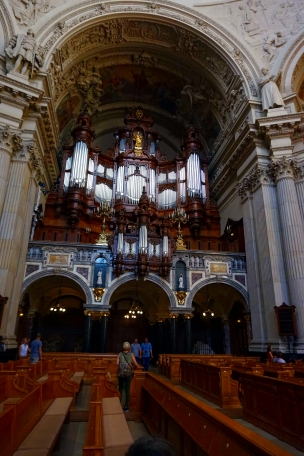 Interior catedral Berlín