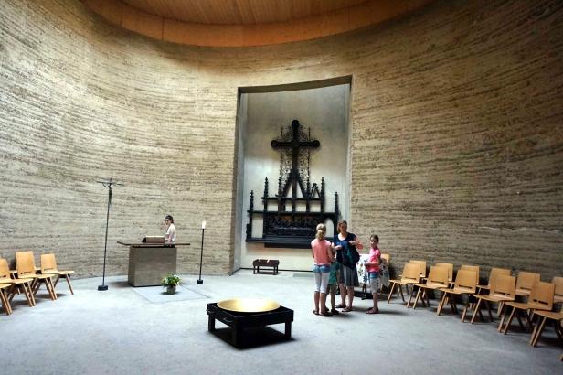 interior Iglesia Reconciliación