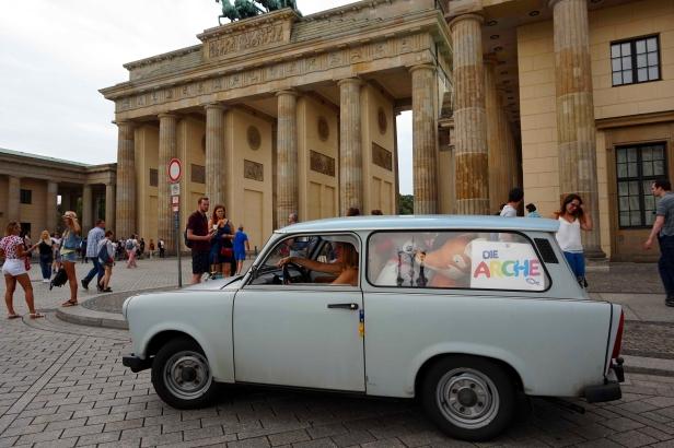 Trabant Berlín