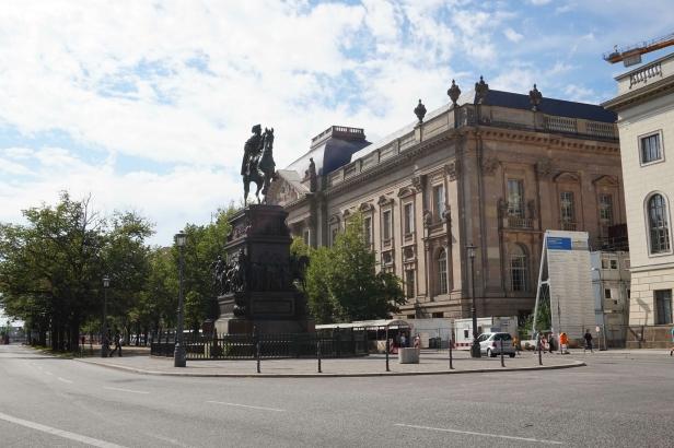 Unter den Linden Berlín