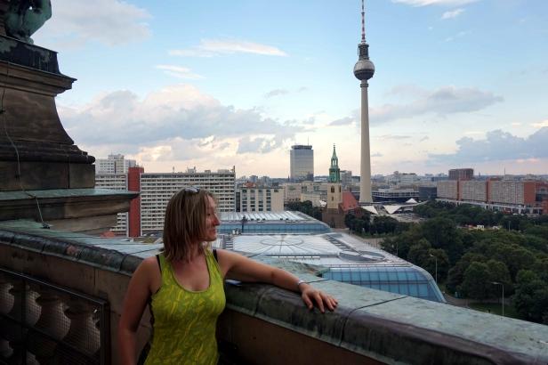 vistas cúpula catedral Berlín