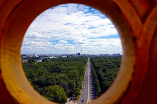 Vistas desde Columna de la Victoria