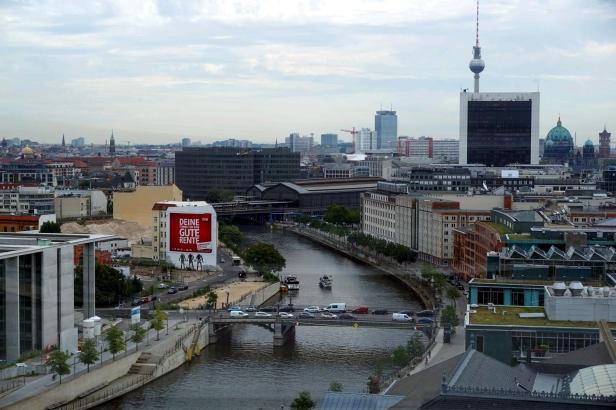 vistas desde Reichstag