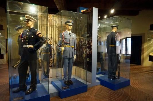 Exposición guardias Castillo Praga
